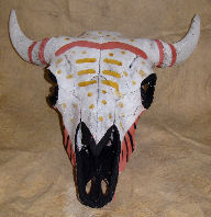 Ceremonial Buffalo Skull