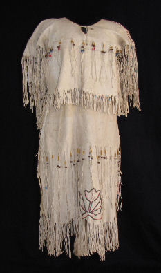 Santee Sioux Buckskin Dress