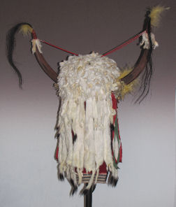 Plains Indian Split Horns Bonnet