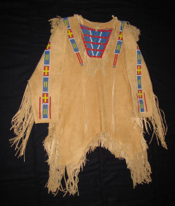 Beaded Buckskin Shirt