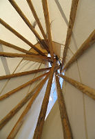 Plains Indian Teepee Frame