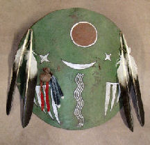 Plains Cree Buffalo War shield