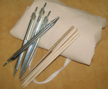 Steel Tent Stakes