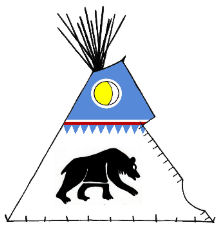 Mato, the Bear Lodge - Copyright Assiniboine Tipis
