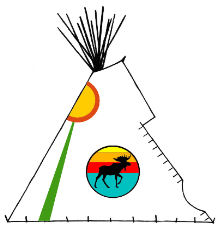 People of the Forest Wigwam - Copyright Assiniboine Tipis