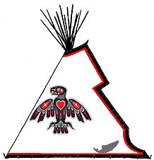 Big House, Pacific Coadst Teepee Design - Copyright Assiniboine Tipis