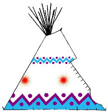 Powwow and Celebration Teepee - Copyright Assiniboine Tipis