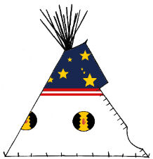 Shield Teepee - Copyright Assiniboine Tipis