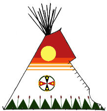 Southern Plains Teepee - Copyright Assiniboine Tipis