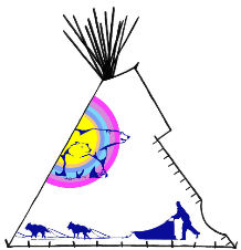 Inuit, Ice Runner Teepee - Copyright Assiniboine Tipis
