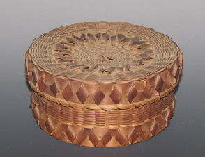 Indian Spint Ash Basket