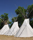 Teepee Village at the Crow Fair