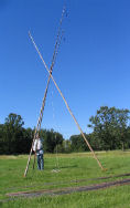 Setting Up Lodge Poles