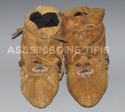 Old Cree Indian Moccasins