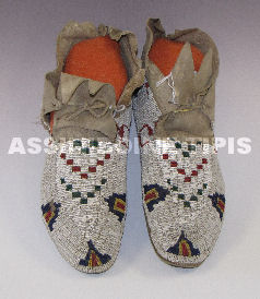 Antique Arapaho Moccasins