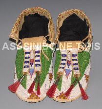 Nice Pair of Sioux Moccasins