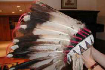 Eagle Feather Bonnet - Private Collection
